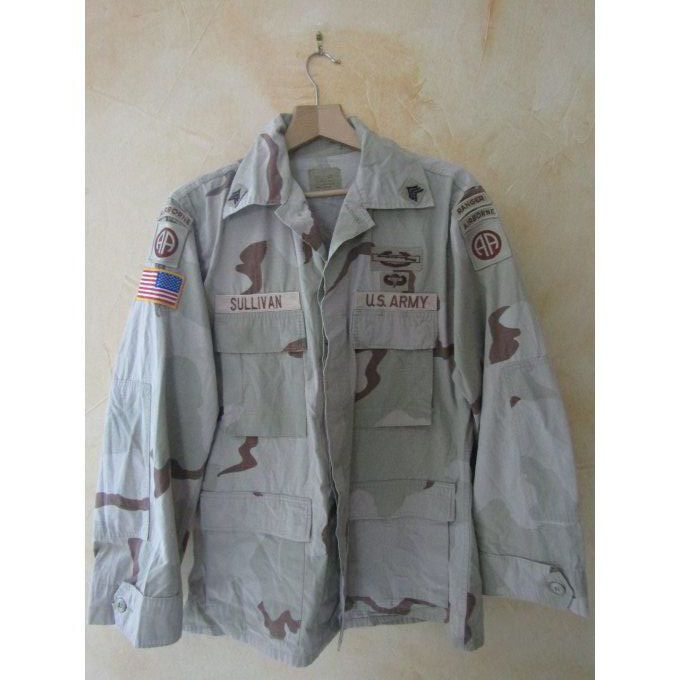 DCU Desert Camo Shirt Size : Medium / Regular Ranger
