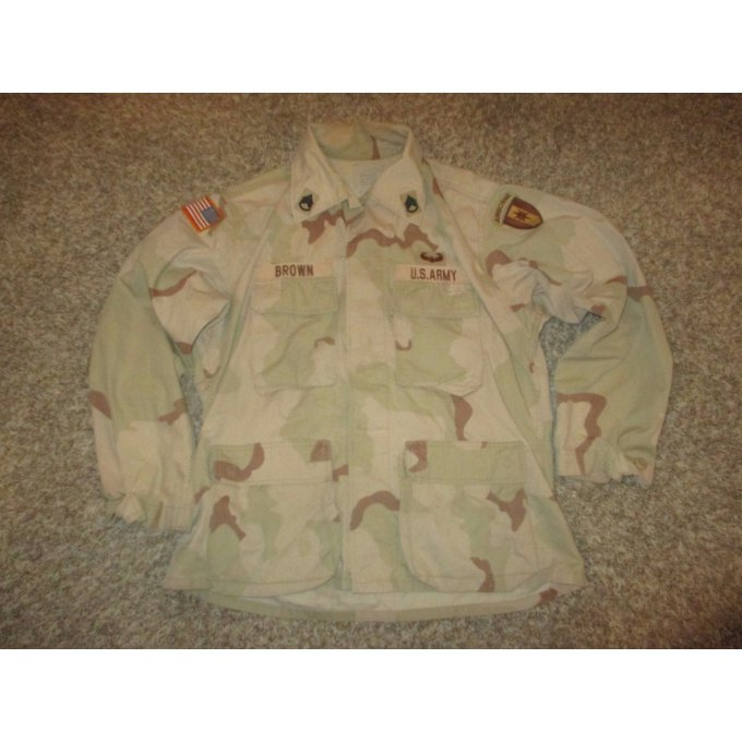 DCU Desert camo Shirt Size : Medium/short