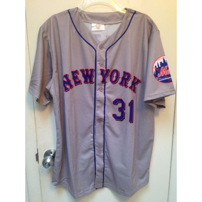Jersey MLB Mike Piazza N.Y. Mets Size : L