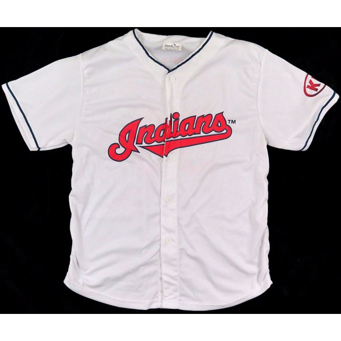 Jersey MLB Nick Swisher Cleveland Indians Size XL