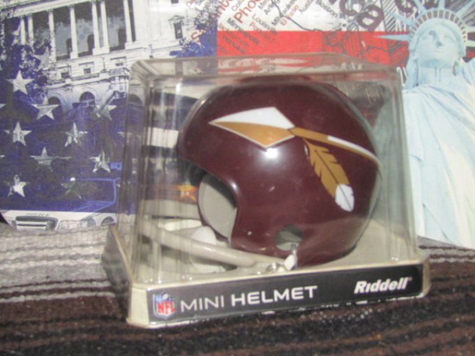 Mini casque NFL Redskin 1965-1969