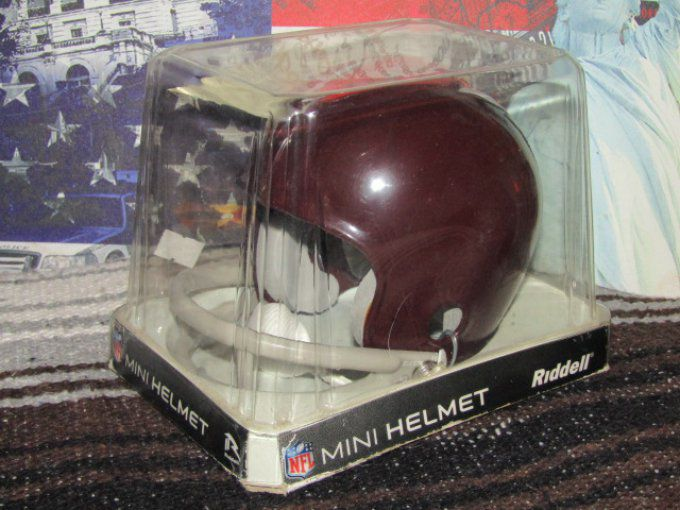 Mini casque NFL Redskin 1960-1964.
