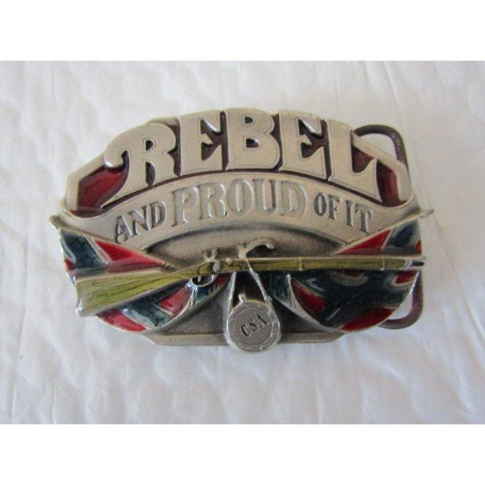 5de2f69f5cbe Boucle de ceinture Rebel 1987