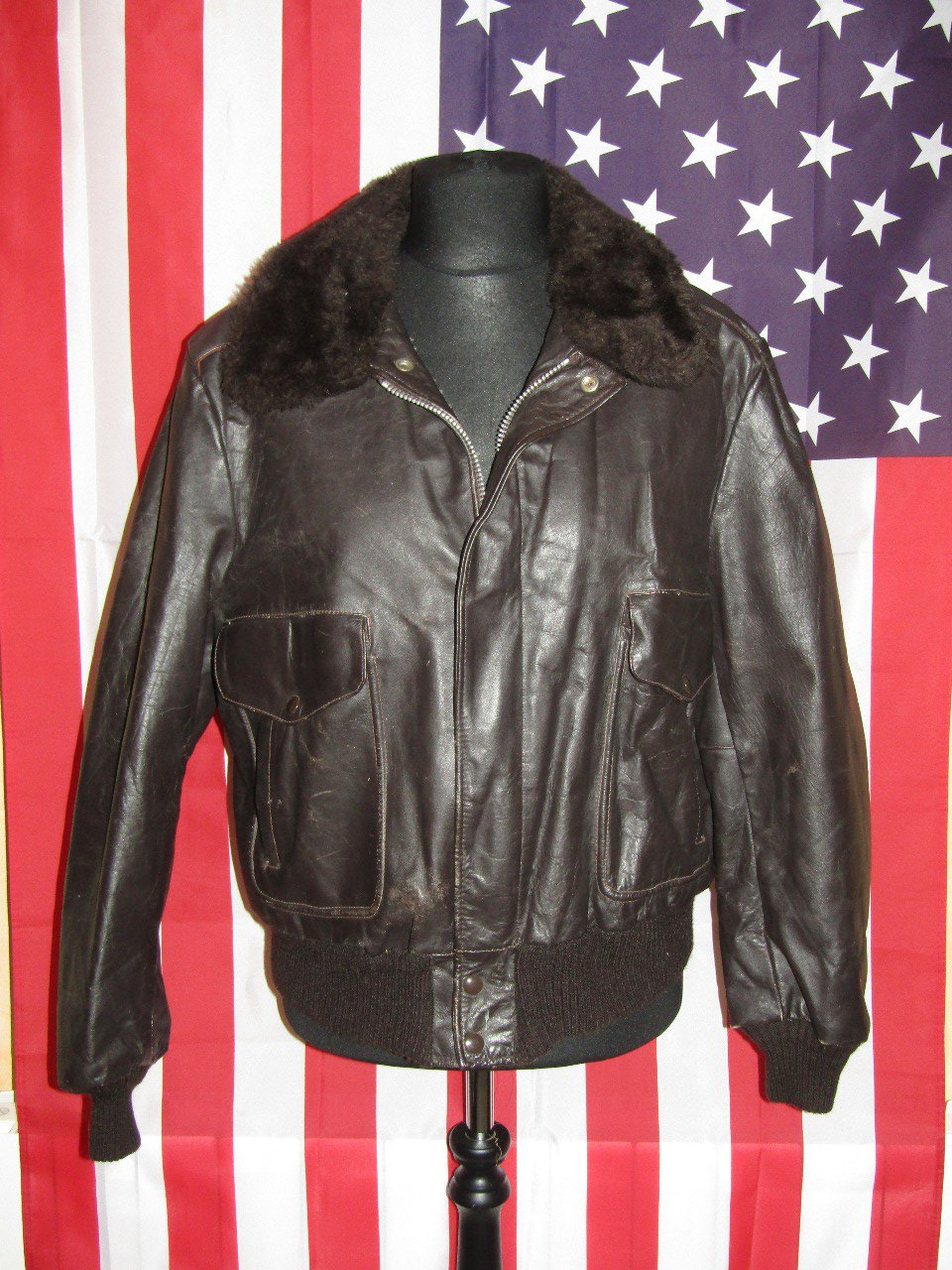 EXCELLED : Vintage Flight Jacket Size L