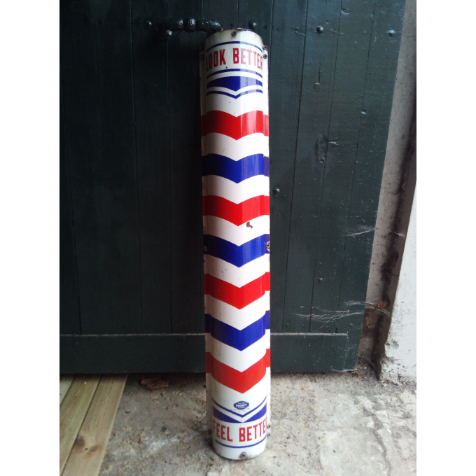 Enseigne Barber Shop dimension 122cm x 12 cm x 22cm