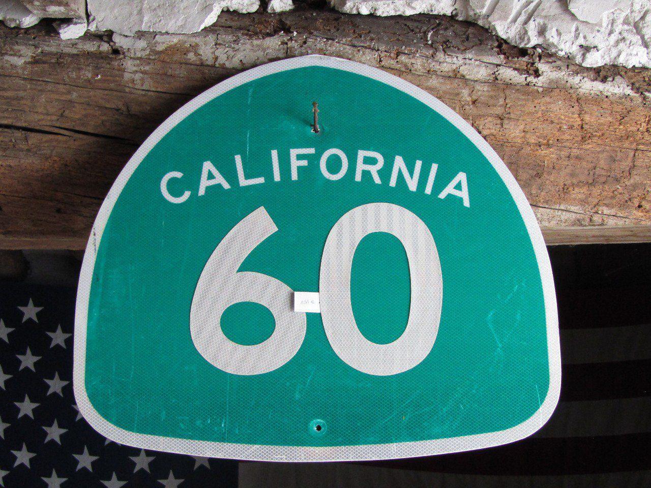 Plaque de rue California 60