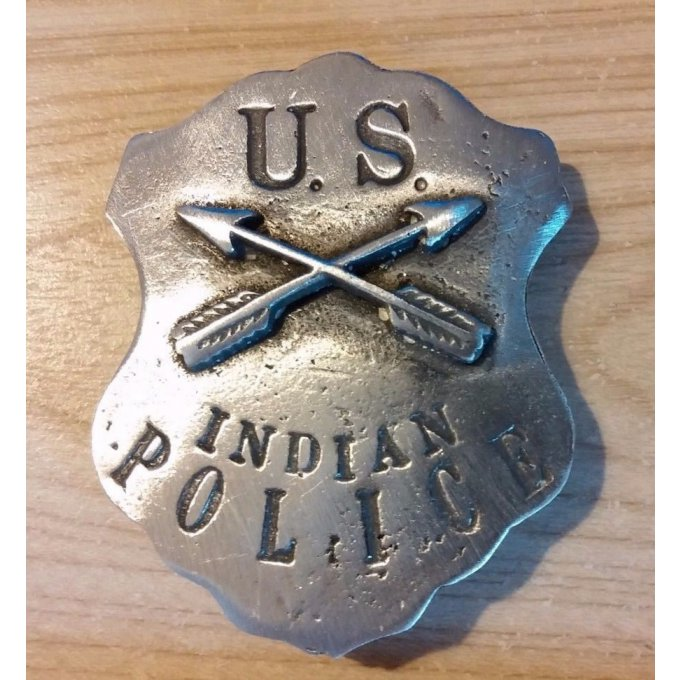 Badge US Police Indienne