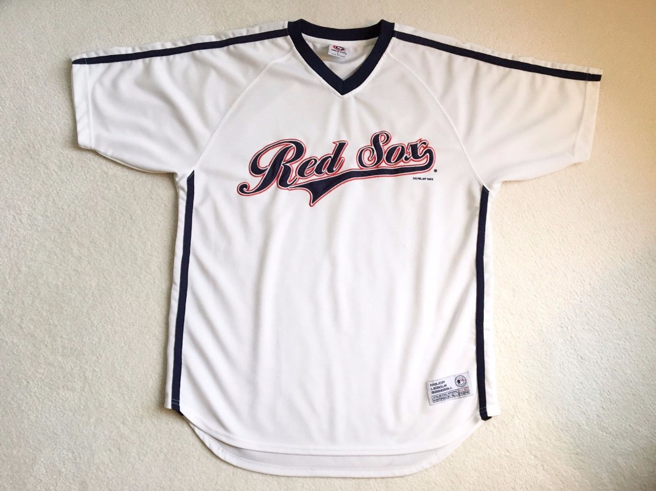 Jersey MLB Boston Red Socks Size : L
