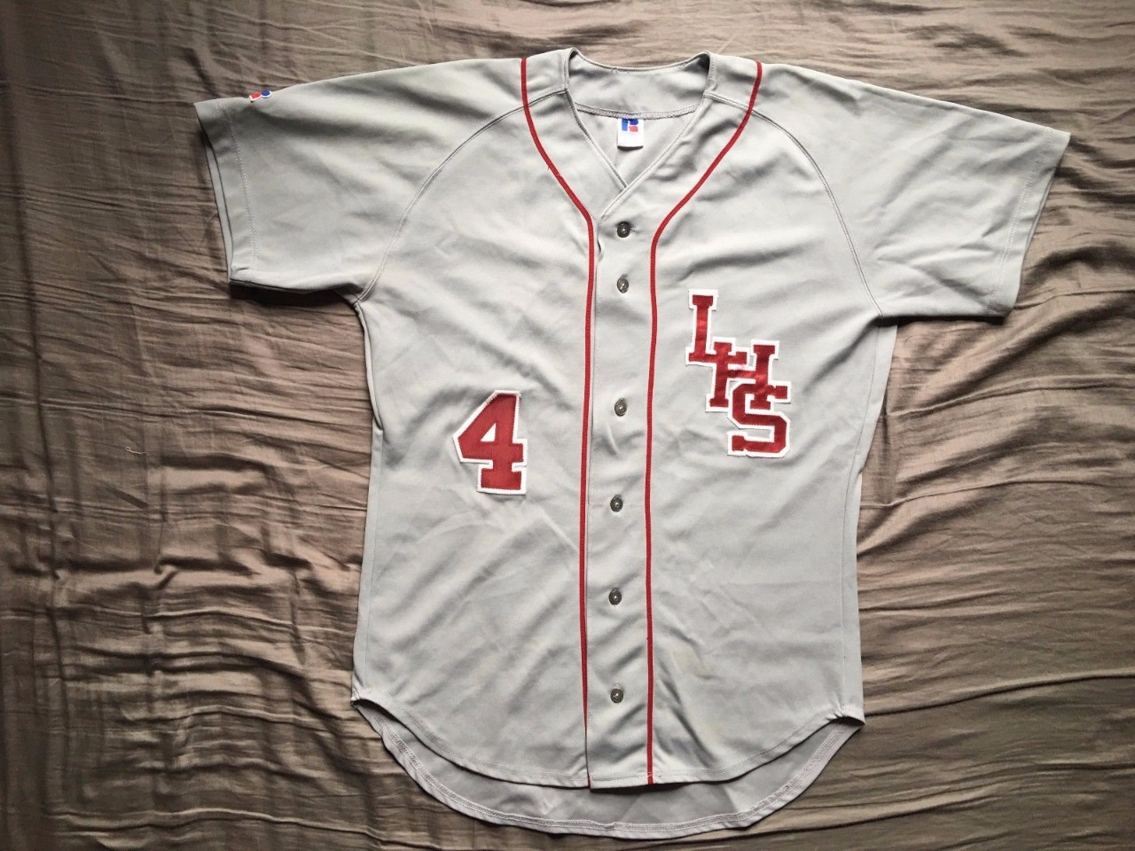 Jersey Vintage Hight School Baseball Team Size : L