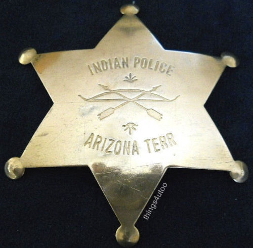 Badge Police Indienne Arizona